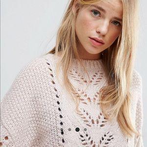 ASOS Sweaters   New Look Balloon Sleeve Knit Sweater   Poshmark 7ec538e3d67b